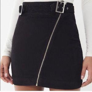 Urban Outfitters Harmony Corduroy Skirt Black